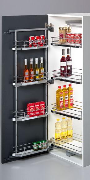 Pantry Unit Anti Skid Modern Kitchen Modular Kitchen