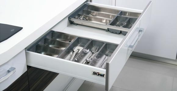Tandem Platinum Inner Upper Drawer Modern Kitchen
